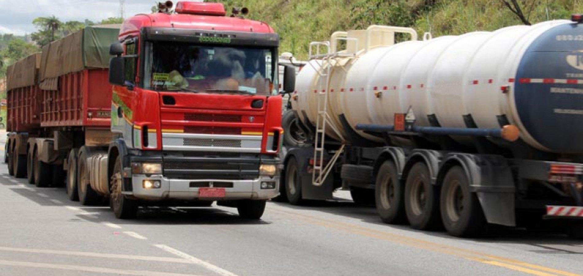 Imepi e PRF fiscalizam veículos de grande porte nas rodovias piauienses