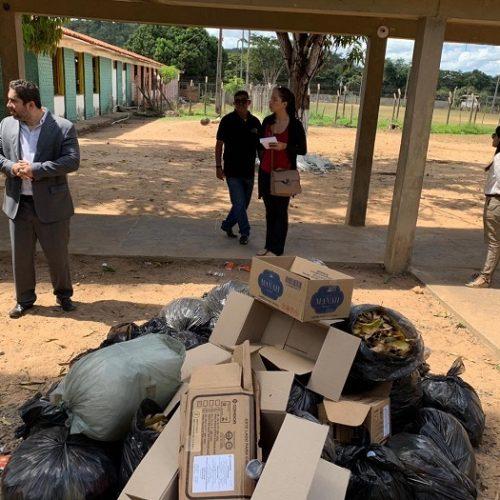 MP Piauí vistoria Colônia Agrícola Major César após rebelião e fuga de detentos