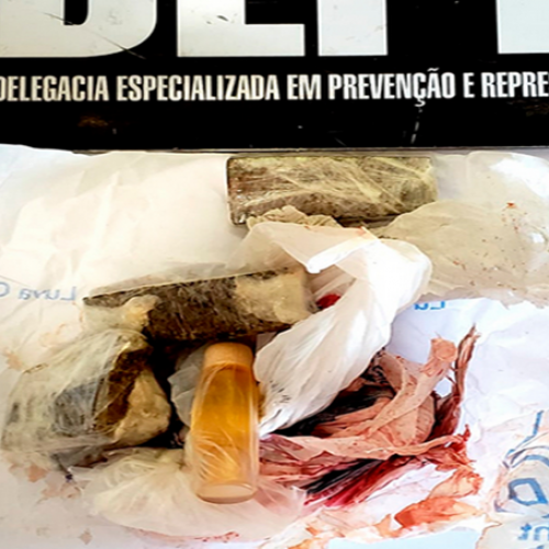 Mulher é presa ao tentar entrar com droga e perfume nas partes íntimas dentro de presídio no PI