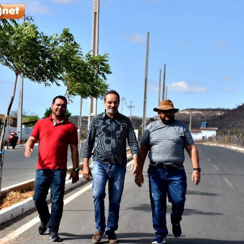 Em Alagoinha, prefeito Jorismar Rocha investe em iluminação pública e levará conforto e segurança à população