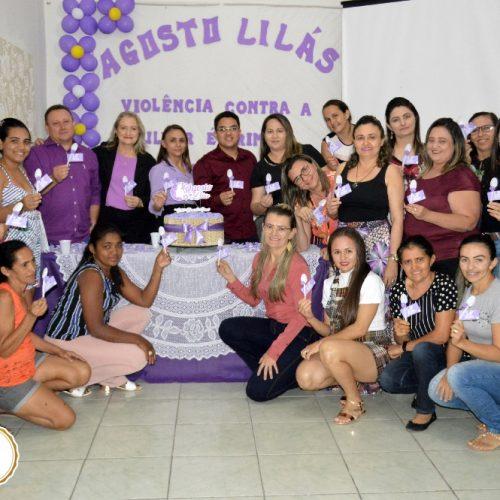 Em alusão ao 'Agosto Lilás', CRAS de Vila Nova promove roda de conversa sobre violência contra a mulher