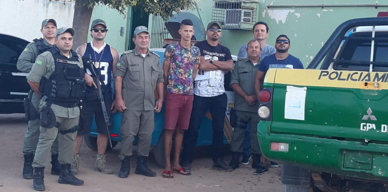 Em Marcolândia, Polícia Militar captura foragido da justiça conhecido no mundo do crime