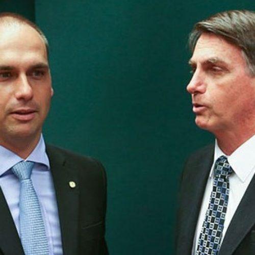 """""""Não quero submeter meu filho ao fracasso"""", diz Bolsonaro sobre Eduardo"""