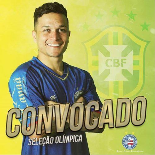 Revelado em Campo Maior, Artur é convocado para seleção olímpica do Brasil
