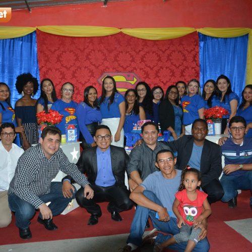 Escola promove festa em homenagem aos pais em Padre Marcos