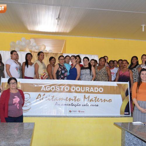 'Agosto Dourado' incentiva sobre a importância do aleitamento materno em Campo Grande do Piauí