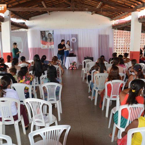 Assistência Social de Padre Marcos promove palestra para beneficiários dos programas Bolsa Família e Criança Feliz