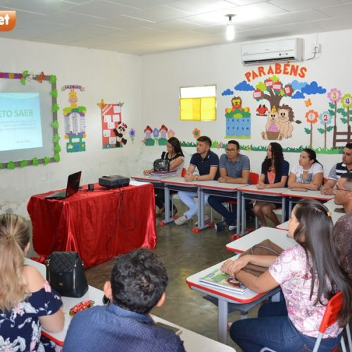 Educação de Padre Marcospromove 2ª oficina sobre o Sistema de Avaliação da Educação Básica (Saeb)
