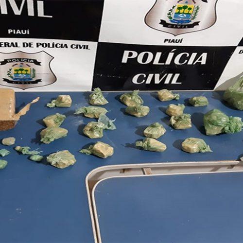 Polícia faz operação em Monsenhor Hipólito e apreende drogas
