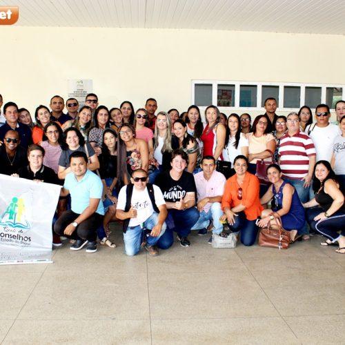 Conselheiros tutelares e de direito participam de formação continuada em Picos