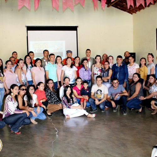 Corpo de Bombeiros de Picos ministra palestra sobre prevenção de incêndios no 3º dia da semana pedagógica de Vila Nova