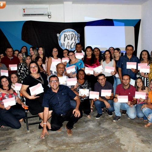 Secretaria de Educação de Francisco Macedo promove palestra motivacional para servidores