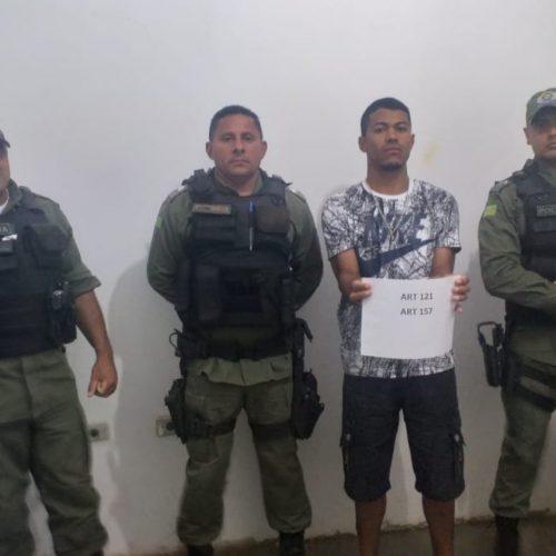 PM de Caldeirão Grande prende foragido de penitenciária do Pernambuco