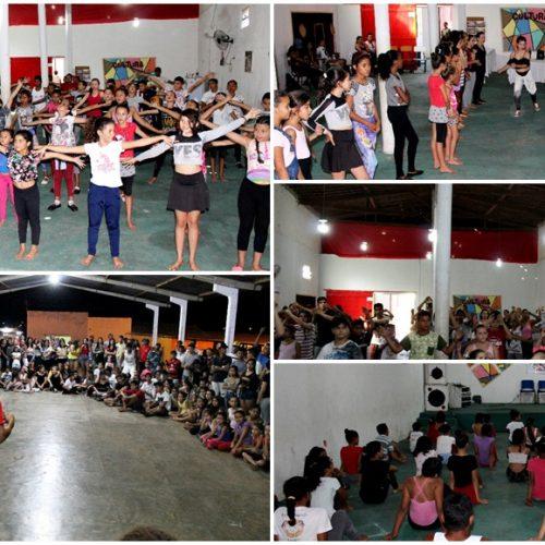 Espaço Cultural em Alegrete do Piauí sedia 3ª etapa do 1º Encontro Intermunicipal de Danças Populares ALEVILA