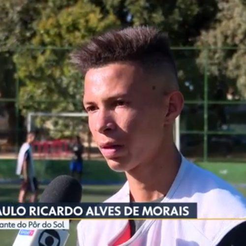 Globo mostra a história de adolescente de Simões em busca do sonho de jogar futebol
