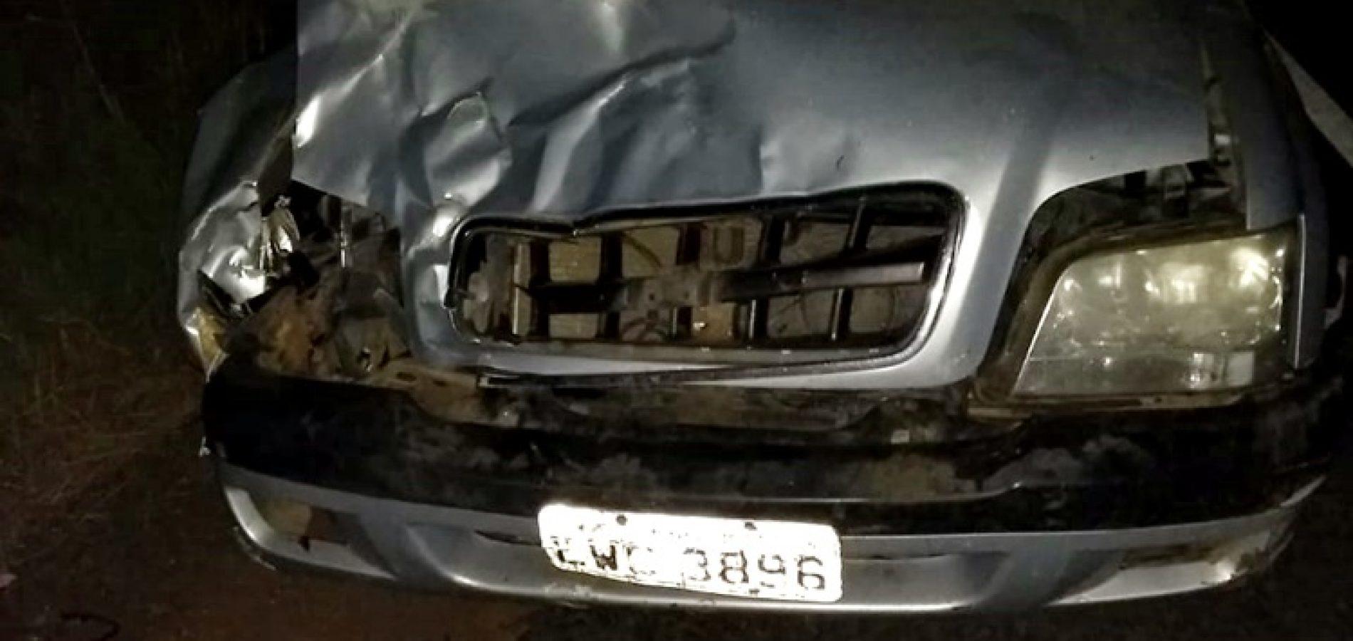 Vereador de São Julião do Piauí se envolve em acidente na BR-316