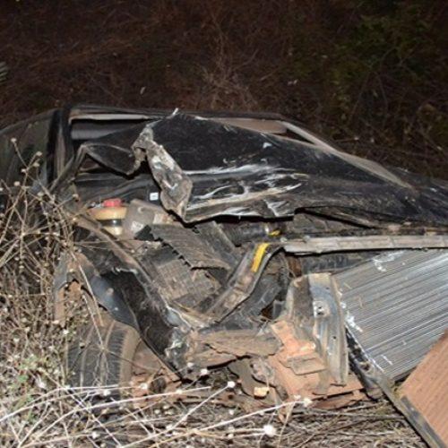 Motorista perde controle em curva e veículo tomba na BR-407 em Geminiano