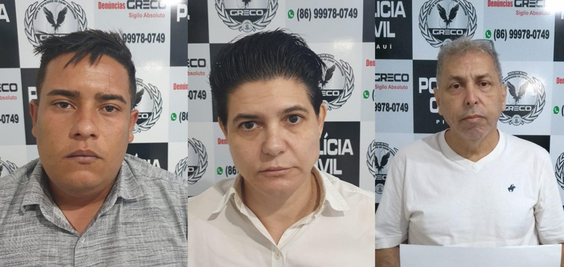 Juiz decreta preventiva de acusados de aplicar golpes bancários no Piauí
