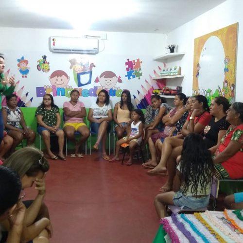 GEMINIANO | Assistência Social promove oficinas de crochê para mulheres