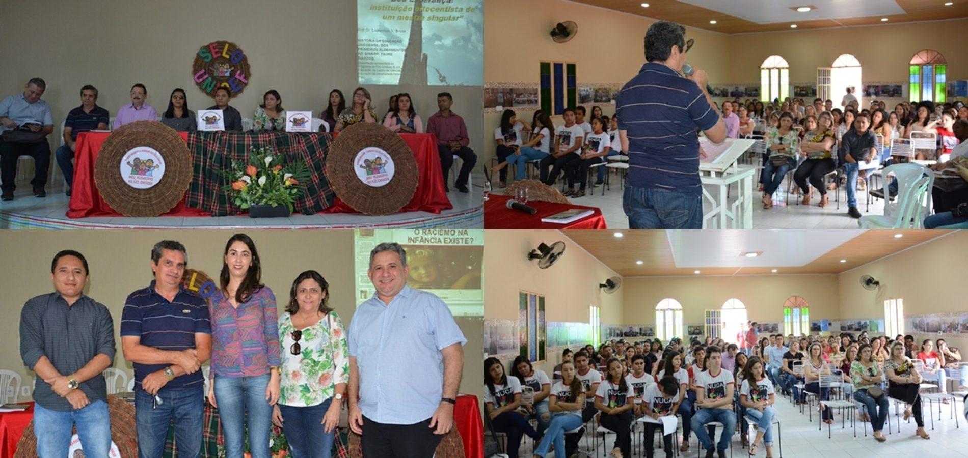 Ciclo de palestras sobre ahistória do Padre Marcos de Araújo Costa inicia atividades pedagógicas do 2° semestre letivo