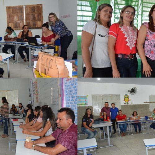 Atualização do Projeto Político Pedagógico marca quarto dia da semana pedagógica em Jaicós