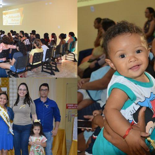 Campanha Agosto Dourado incentiva a amamentação em Belém do Piauí