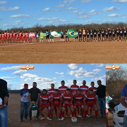 14° Campeonato Municipal de Futebol é aberto com goleada em Jacobina do Piauí