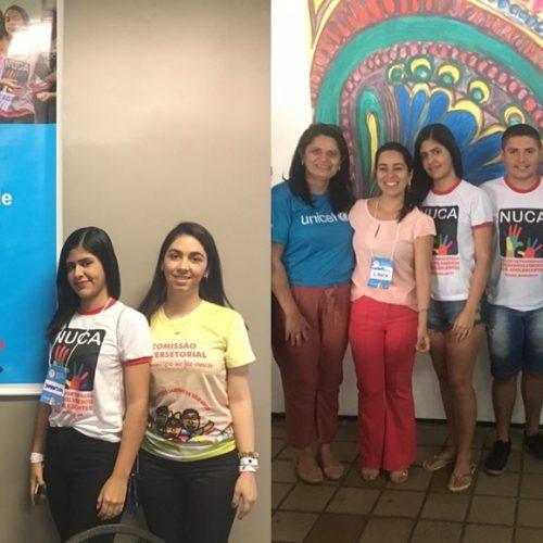 NUCA de Padre Marcos participa do I Encontrode Mobilização de Adolescentes do Piauí