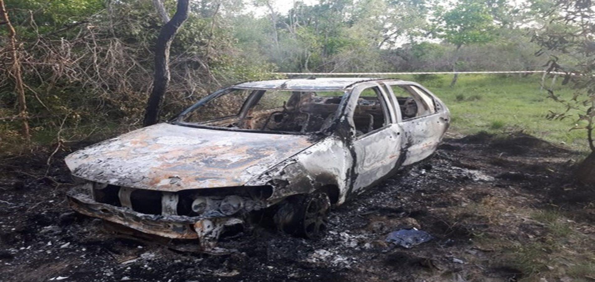 Presos suspeitos de assassinar corretor de veículos e incendiar corpo dentro de carro no Piauí