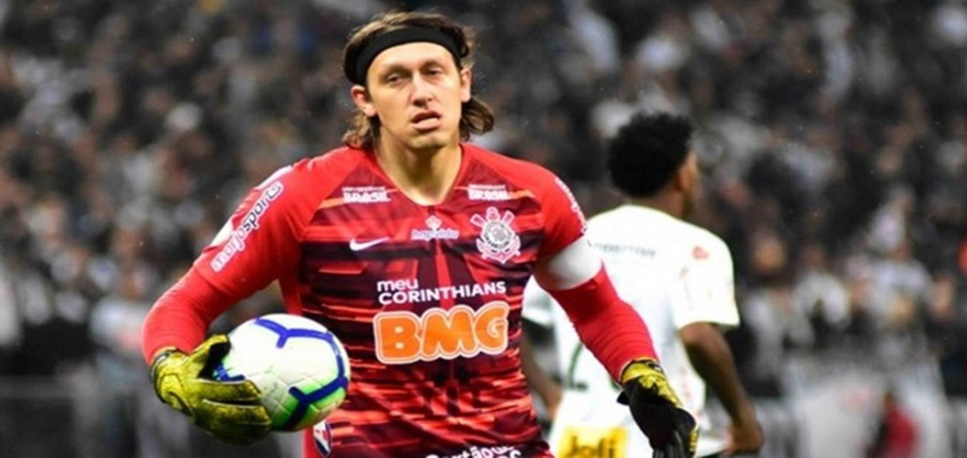 Cássio freia empolgação na Sula e espera Fluminense imprevisível