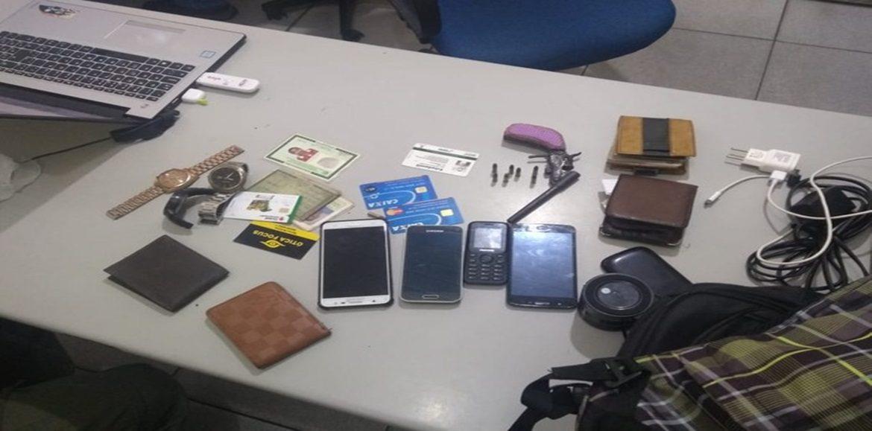 Suspeitos de arrastões são presos após serem rastreados por celular de vítima no Piauí
