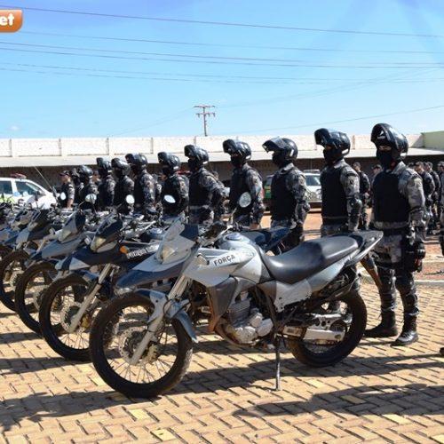 PM de Picos forma primeira turma de Rondas Ostensivas com apoio de motocicletas