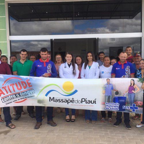MASSAPÊ   Saúde realiza ação de combate à dengue no povoado São Francisco