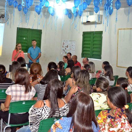 MASSAPÊ | Educação inicia semestre com Encontro Pedagógico e lançamento de projeto