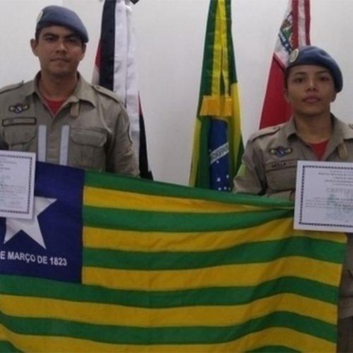 Piauí tem a 1ª mergulhadora bombeiro feminino da história