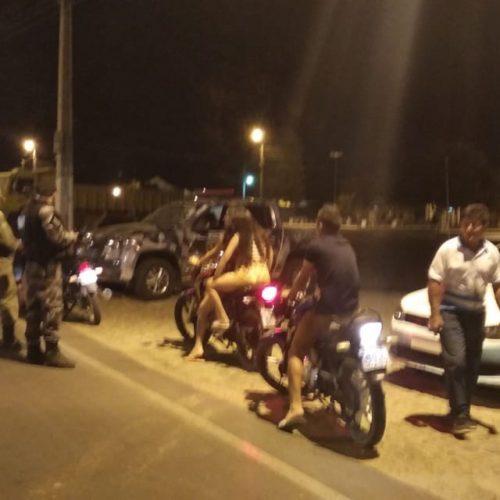 PM de Jaicós realiza operação e apreende duas motos irregulares