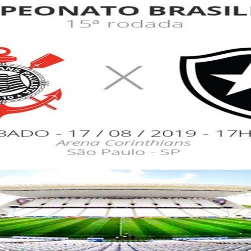 Corinthians x Botafogo: tudo o que você precisa saber sobre o jogo da rodada