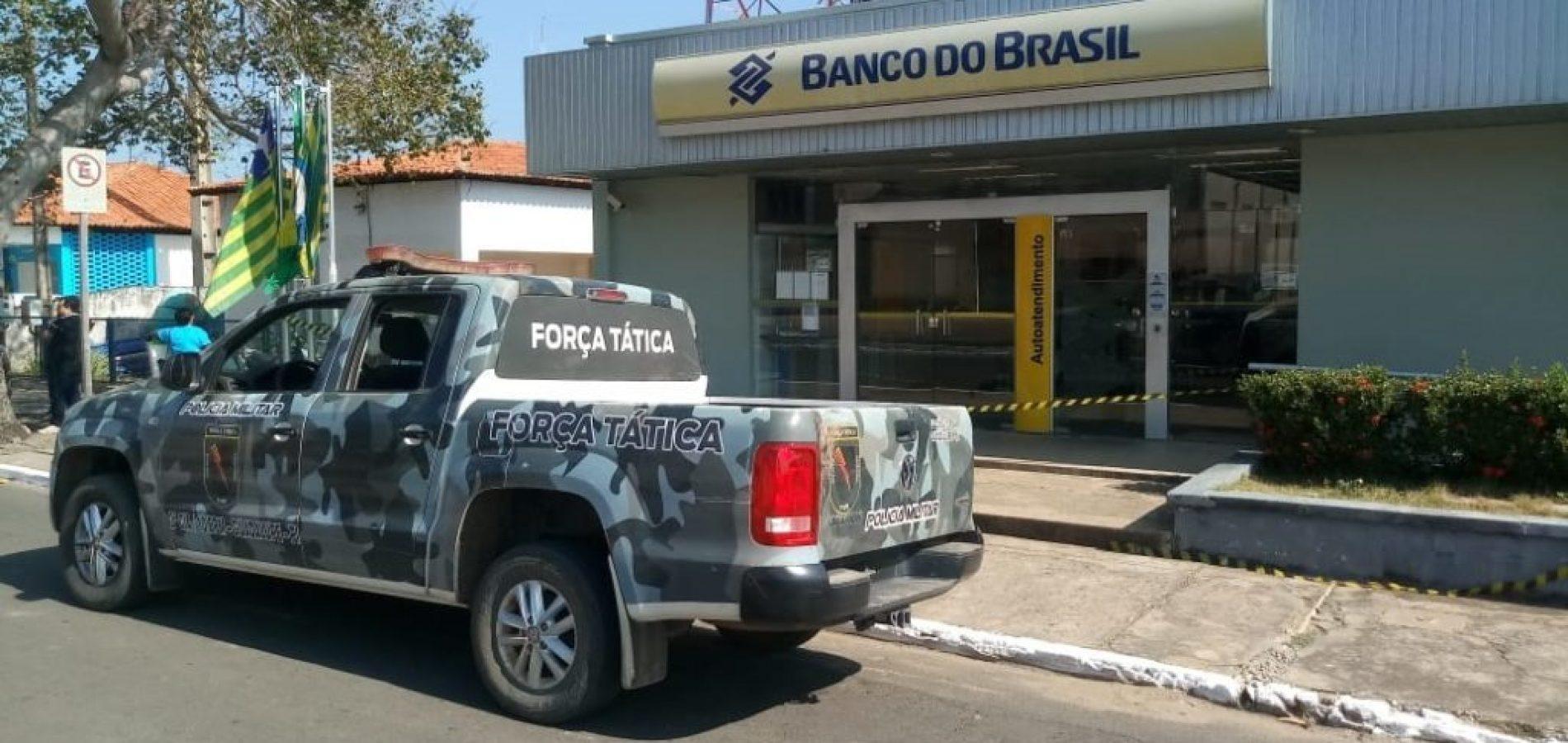 Banco do Brasil é alvo de ação criminosa em cidade no interior do Piauí