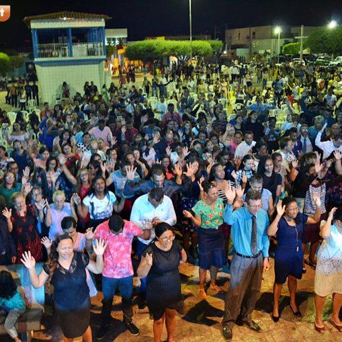 Confira fotos do Dia do Evangélico em Simões