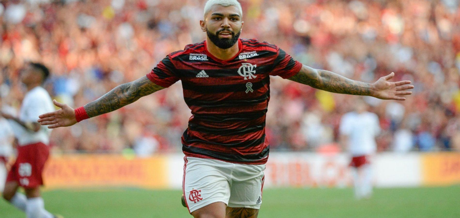 """Gabigol torce por final feliz com Balotelli no Flamengo: """"Espero que venha"""""""