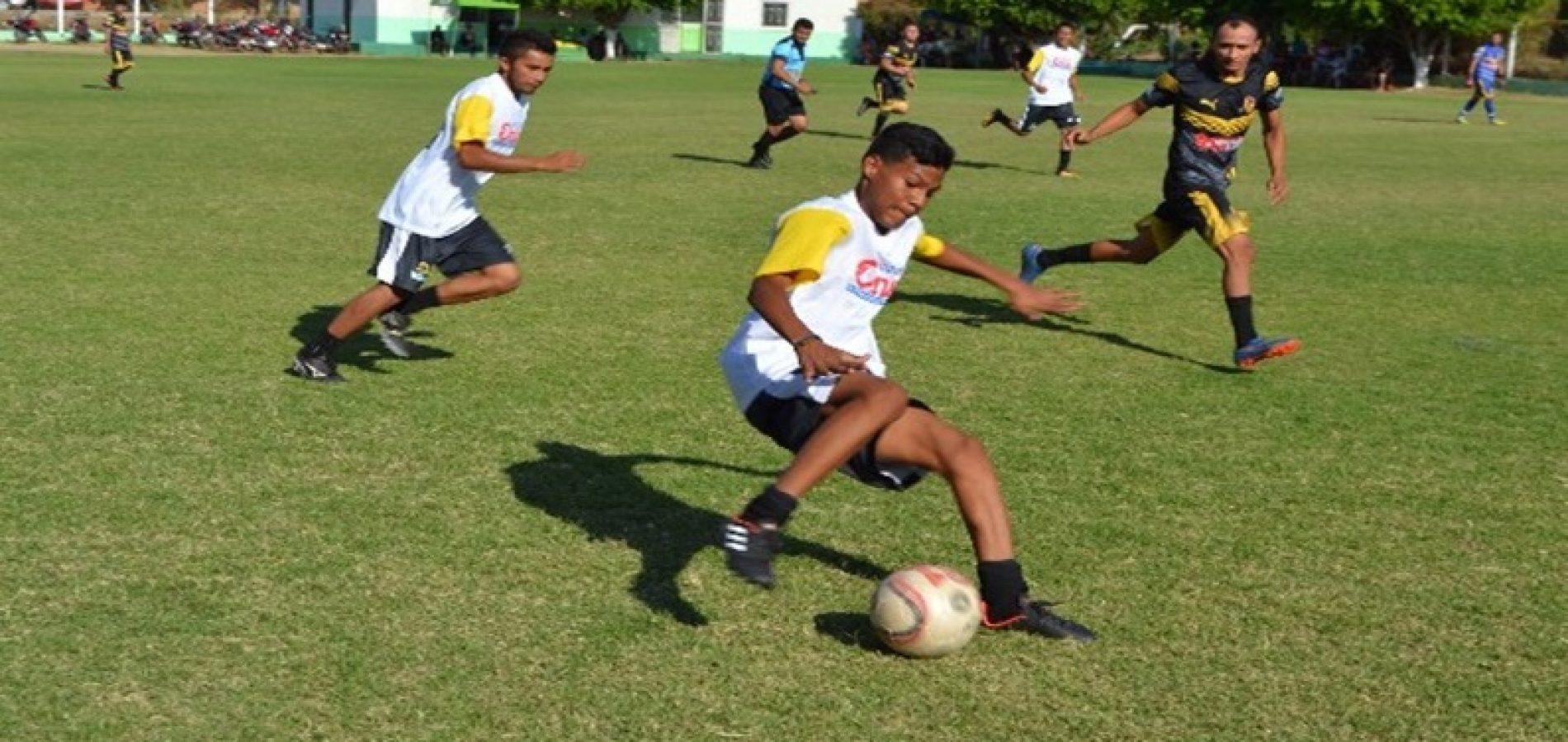 Definidas semifinais do Campeonato Municipal de Futebol Amador de Geminiano