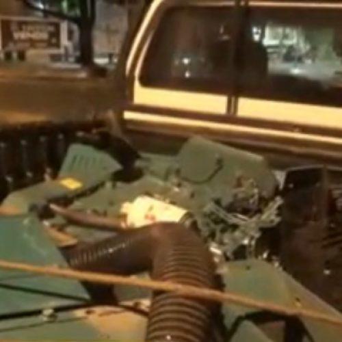 PI: polícia prende homem suspeito de furtar geradores avaliados em R$ 1 milhão