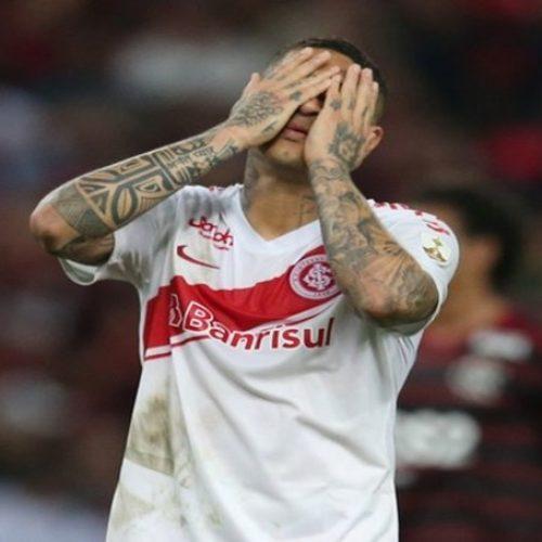 Inter prepara cartada final e já estuda alternativa para ter Guerrero contra o Cruzeiro