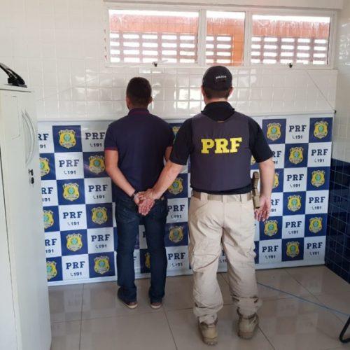 Homem com mandado de prisão em aberto emitido pela Justiça de SP é preso no Piauí