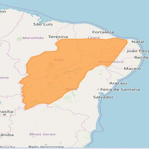 Agosto tem altas temperaturas e umidade do ar chega a 15% no Piauí