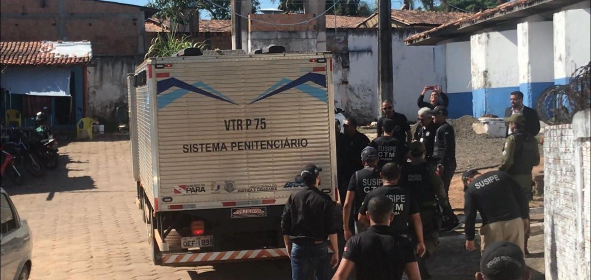 Agentes penitenciários do Piauí vão conter crise no Pará após massacre com 58 mortos
