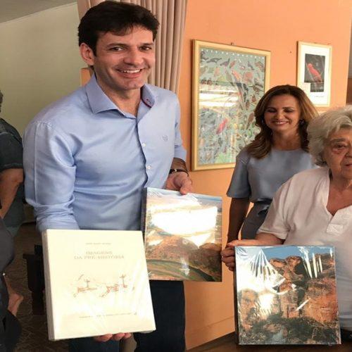 Após visita de ministro, Niède diz que Serra da Capivara 'receberá milhões de turistas'