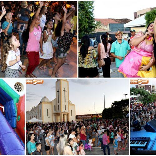 PIO IX 130 ANOS│Espaço de diversão e show infantil reúne centenas de crianças; veja fotos
