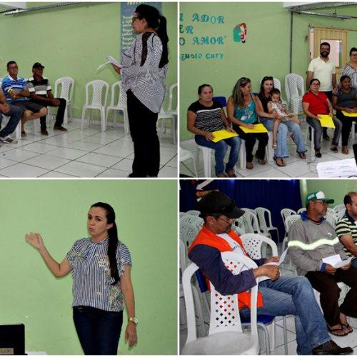 SÃO JULIÃO │Educação Municipal promove capacitação para merendeiras e motoristas
