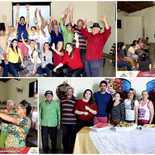 SCFV de Vila Nova do Piauí retorna atividades com idosos do grupo Flor do Sertão; veja fotos